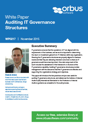 Auditing IT Governance Structures