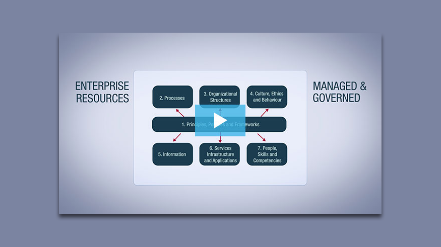 Video Series: COBIT 5 Principle 4 - Enabling a Holistic Approach