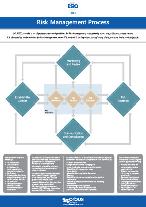 ISO 31000 Risk Management Poster