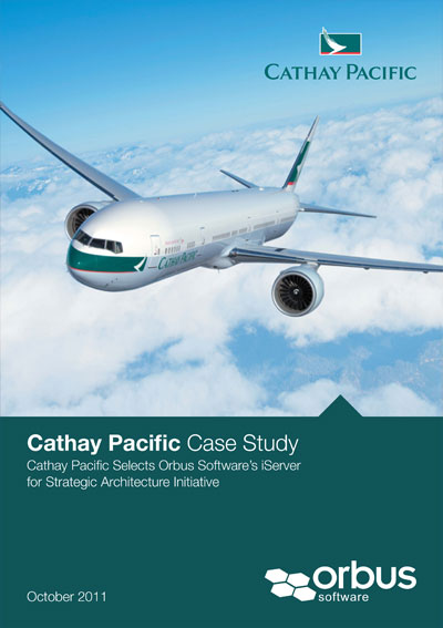 Cathay Pacific Selects Orbus Software's iServer  for Strategic Architecture Initiative