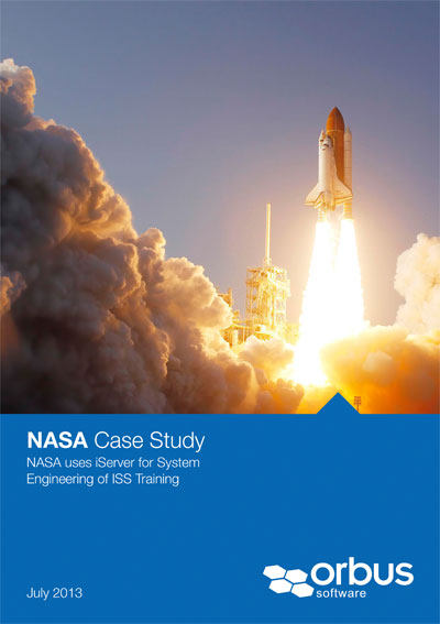 NASA uses iServer for System Engineering of ISS Training