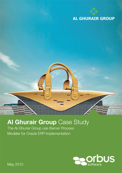 Al Ghurair uses iServer as a Business Process repository and Modeling Tool