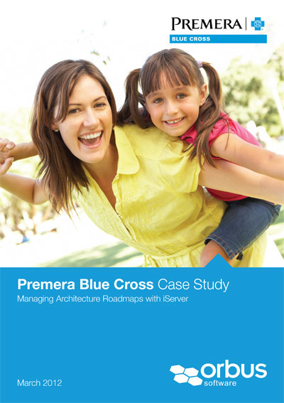 Premera Blue Cross Manages Architecture Roadmaps with iServer