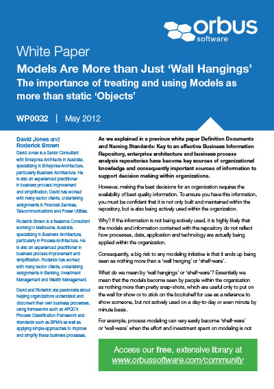 Models Are More Than Just 'Wall Hangings'