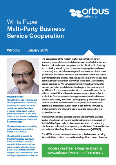 Multi-Party Business Service Cooperation