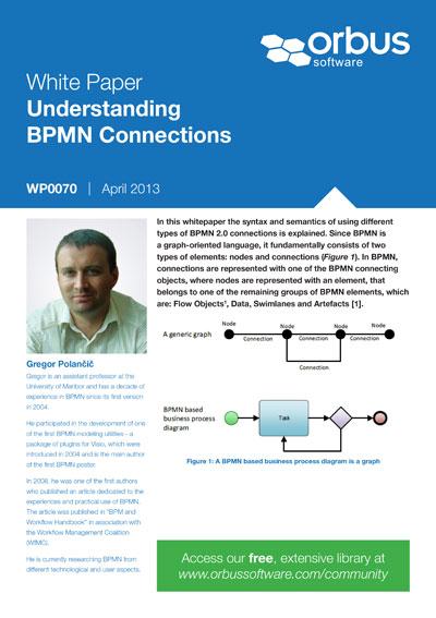 Understanding BPMN Connections