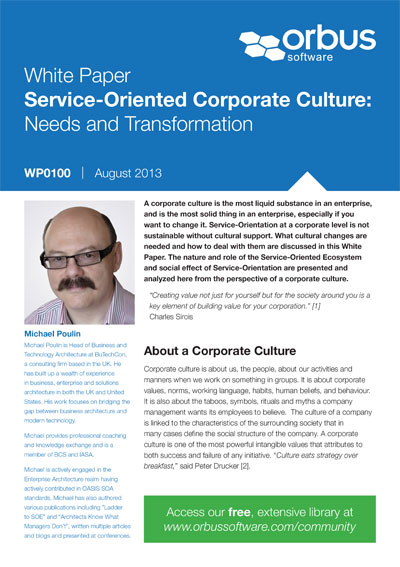 Service-Oriented Corporate Culture: Needs and Transformation