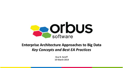 Enterprise Architecture Approaches to Big Data