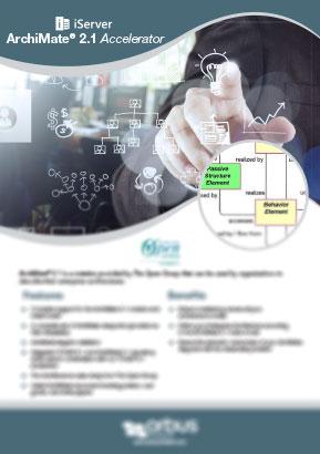 ArchiMate® 2.1 Accelerator Flyer