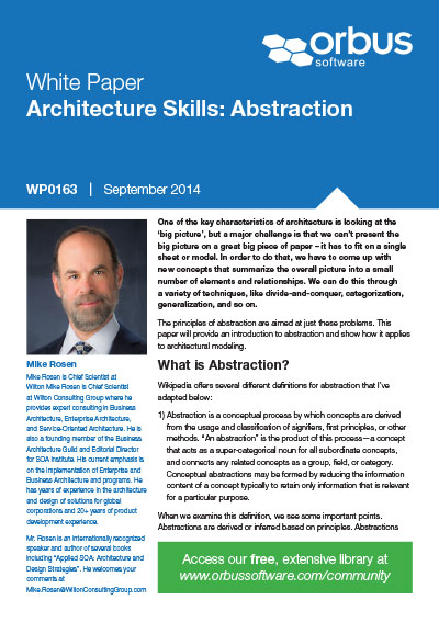 Improving your Architectural Skills: Abstraction