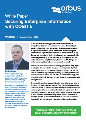 Securing Enterprise Information with COBIT 5