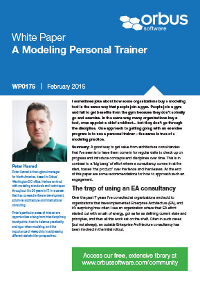 A Modeling Personal Trainer