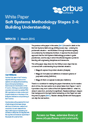 Soft Systems Methodology Stages 2-4: Building Understanding - Paper 7