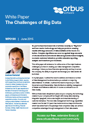 The Challenges of Big Data