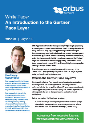 An Introduction to the Gartner Pace Layer