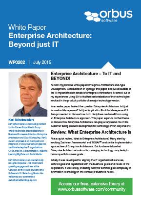 Enterprise Architecture: Beyond Just IT