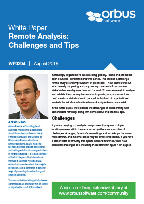 Remote Analysis: Challenges and Tips