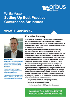 Setting Up Best Practice Governance Structures