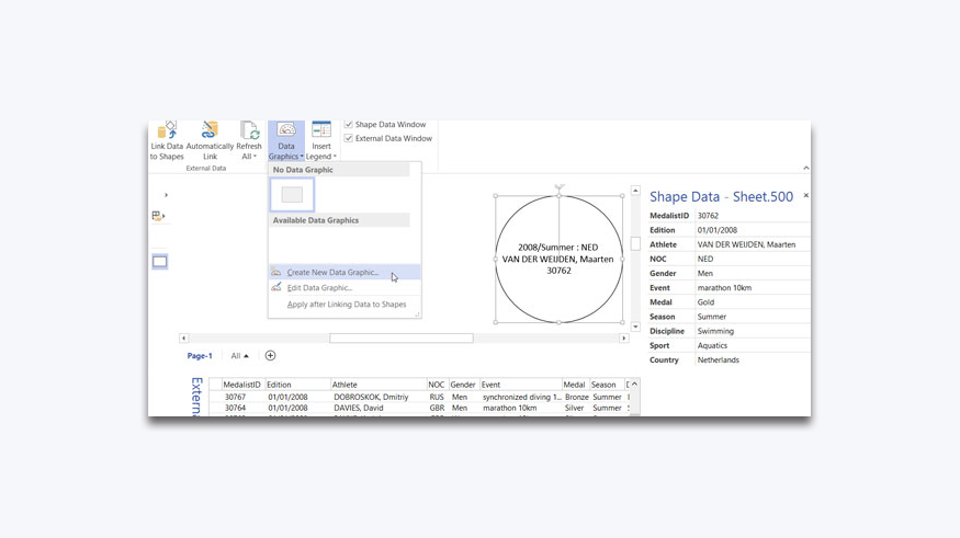 Data Graphics - Text Callouts in Visio 2013