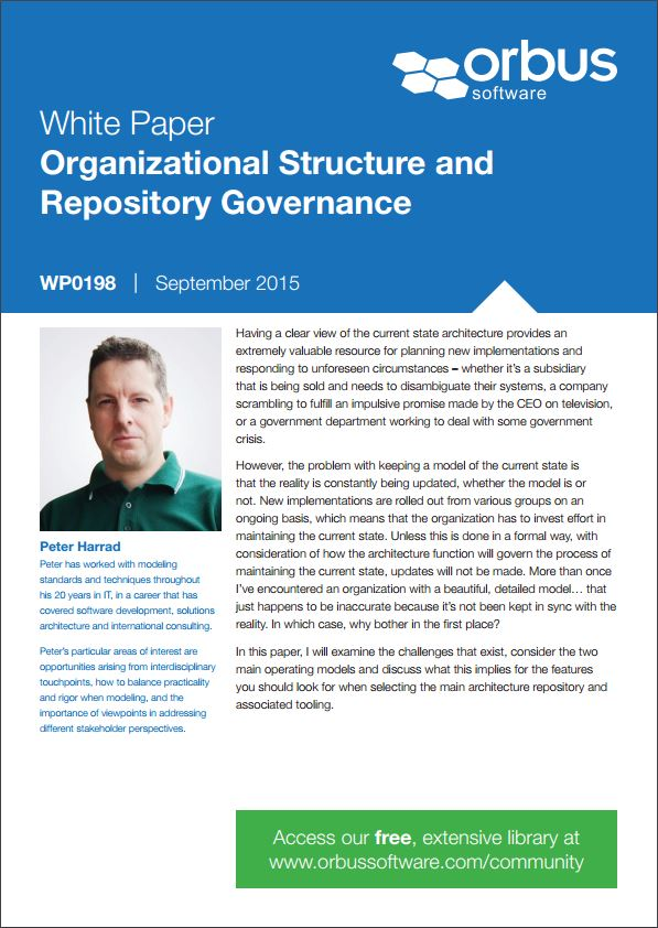 Organizational Structure and Repository Governance