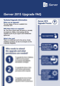 iServer 2015 Technical Upgrade FAQs