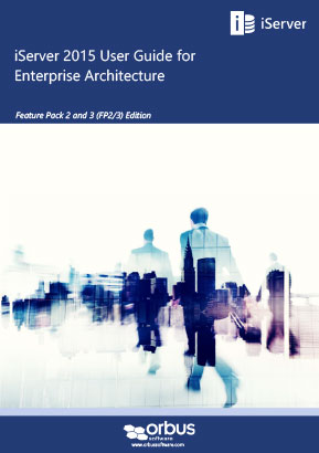 iServer 2015 User Guide for Enterprise Architecture (FP2/3 Editions)