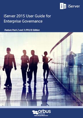 iServer 2015 User Guide for Enterprise Governance (FP2/3 Editions)
