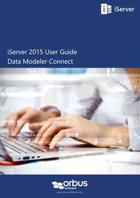 iServer 2015 User Guide: Data Modeler Connect