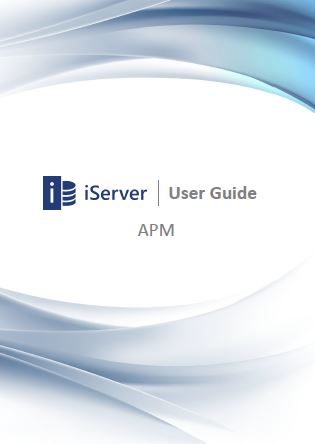 iServer 2015 User Guide: APM