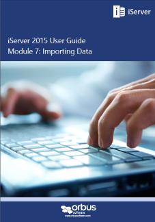 iServer 2015 User Guide: Data Exchange