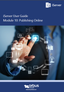 iServer 2015 User Guide: Publishing Online with Portal and HTML Publisher