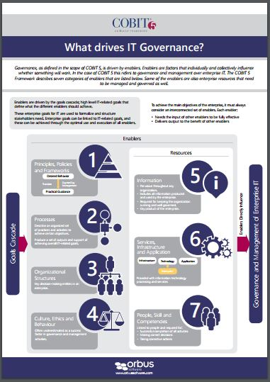 COBIT Poster 2: What drives IT Governance?
