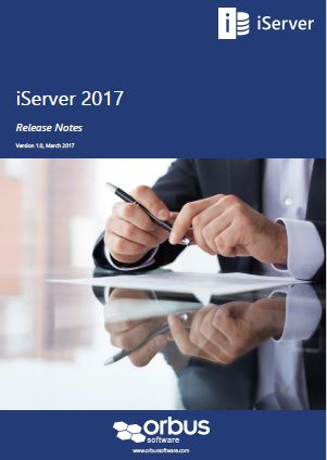 iServer 2017 Release Notes