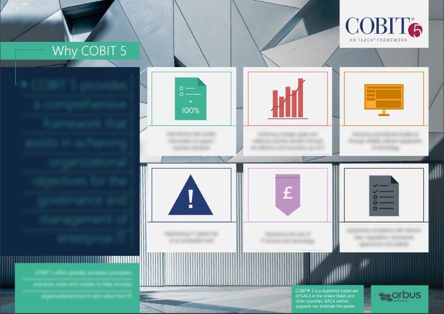 Why COBIT 5? Six Things COBIT 5 Does Best