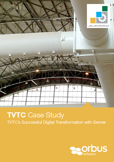 TVTC uses iServer to implement their Digital Transformation