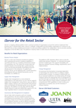 iServer for the Retail Sector Flyer