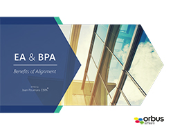 EA and BPA - Benefits of Alignment