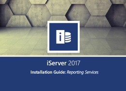 iServer 2017 Reporting Services Installation Guide
