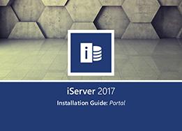 iServer 2017 Portal Installation Guide