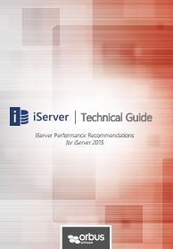 iServer2015 Performance Recommendations
