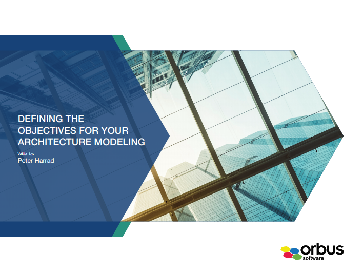 Defining the Objectives for your Architecture Modeling