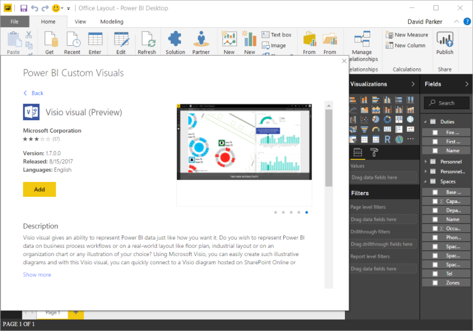 PowerBI and Visio Integration
