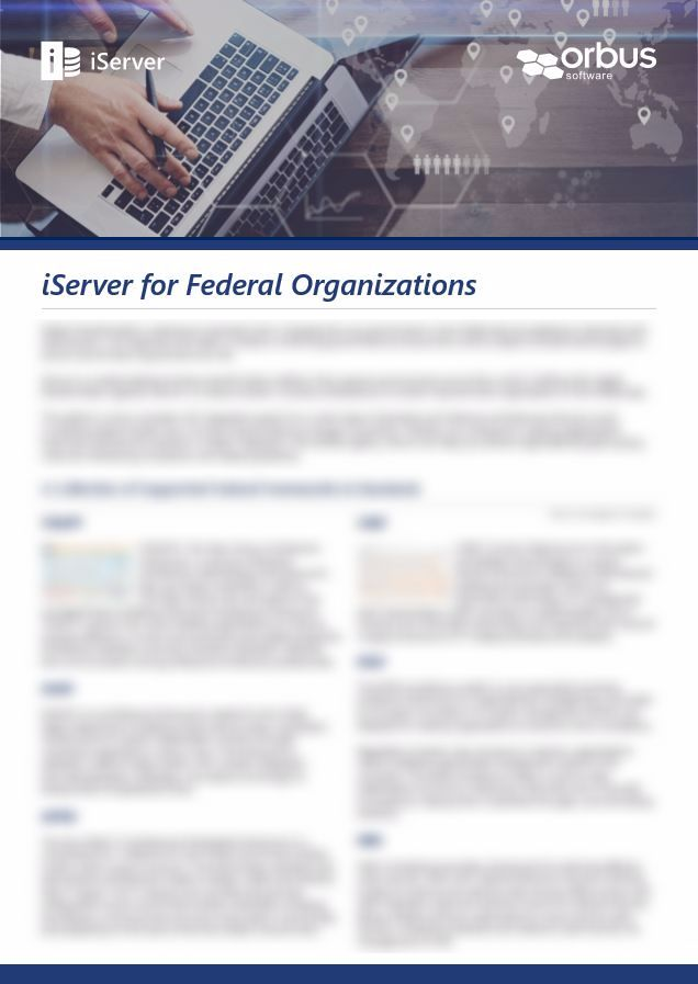 iServer for Federal Organizations MENA