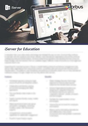 iServer for Education Flyer