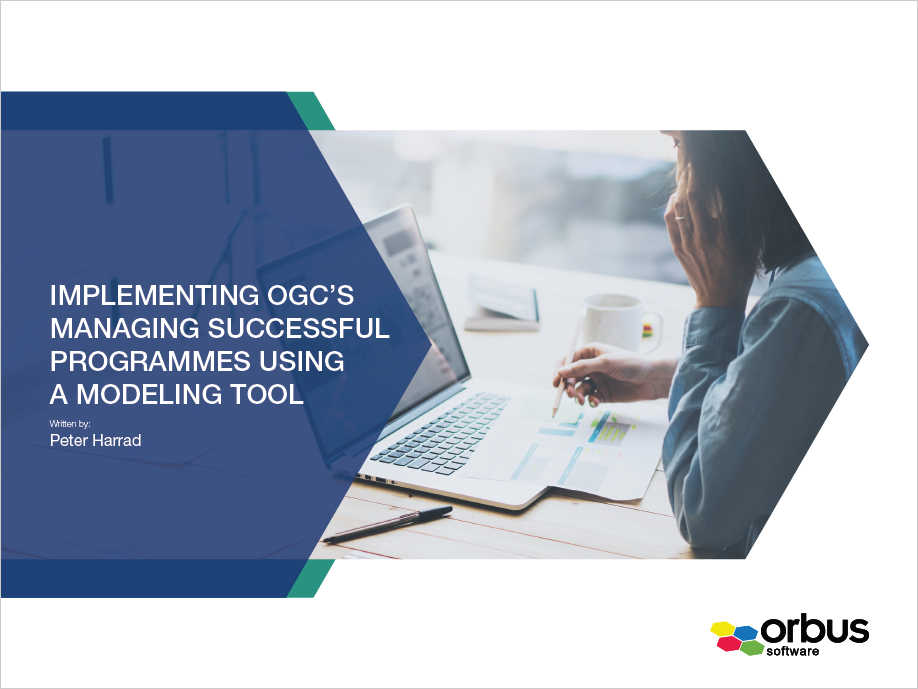 Implementing OGC's Managing Successful Programmes using a Modeling Tool