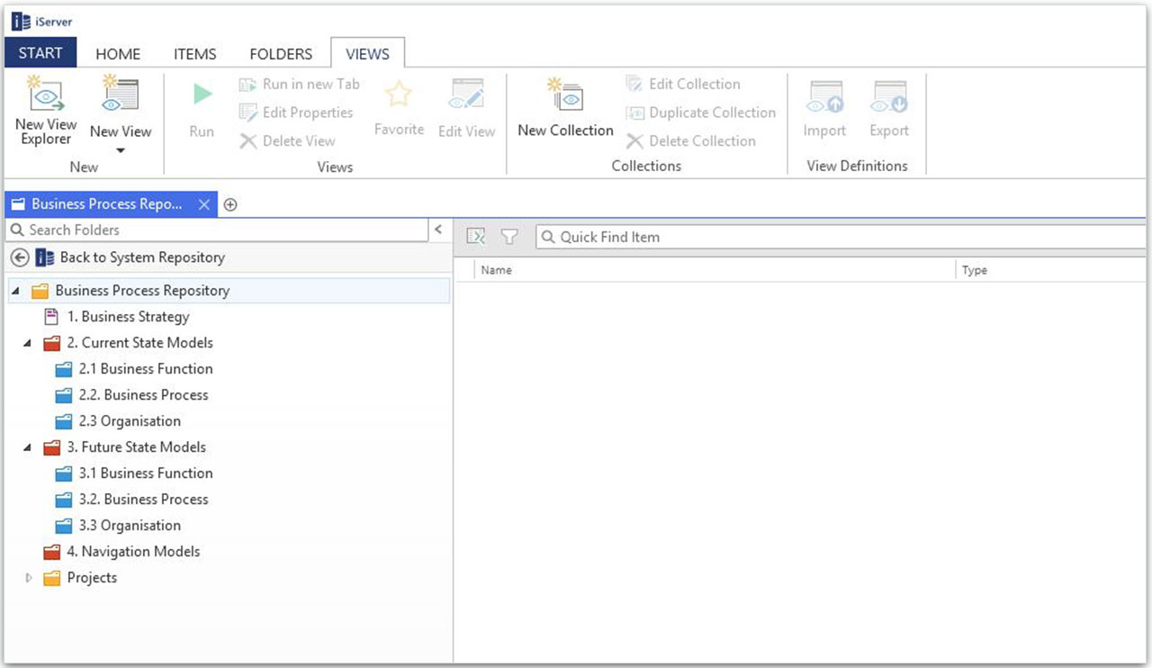 Central Visio Process Repository
