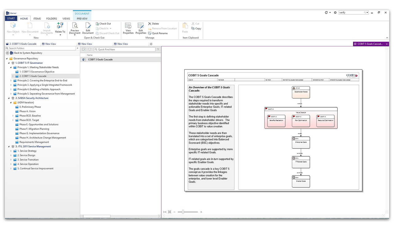 Central Visio Governance Repository