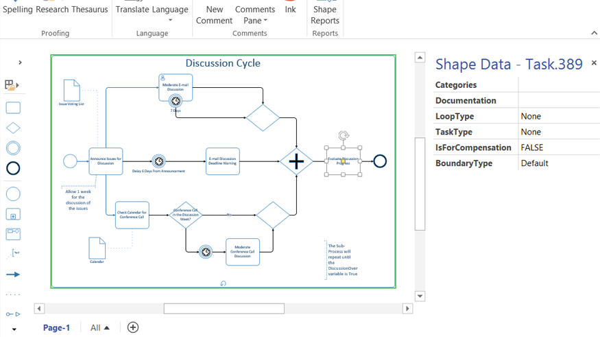 orbus templates - exporting diagrams from visio 2013