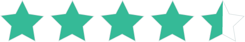 4.5 out of 5 star rating on Garnter Peer Insights